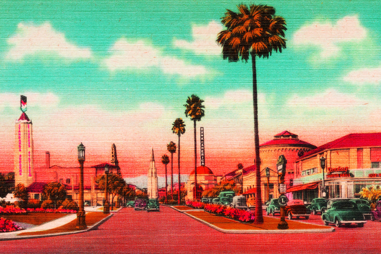 Westwood Village, LA, home of Everipedia (Kevin Durkin for In The Mesh)